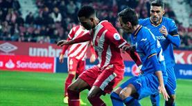 Getafe kaçtı Girona yakaladı! (ÖZET)