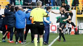 Teleset Mobilya Akhisarspor - Bursaspor: 1-0 (ÖZET)