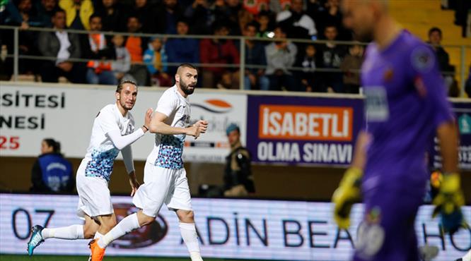 Aytemiz Alanyaspor - Trabzonspor: 1-2 (ÖZET)