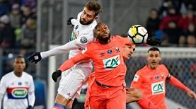 Fransa Kupası'nda bir şok da Lyon'a (ÖZET)