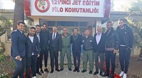 Göztepe'den anlamlı ziyaret