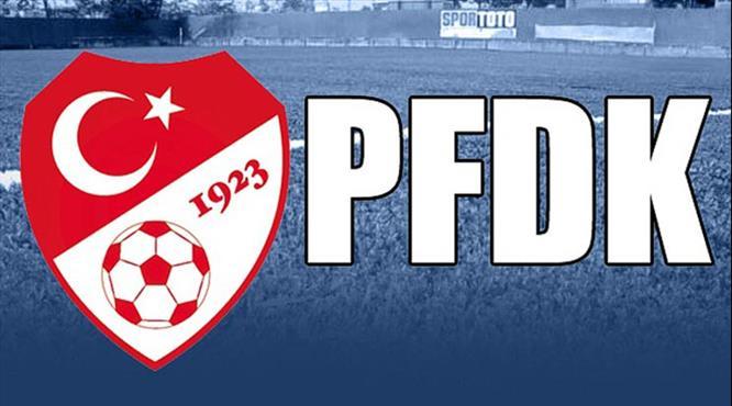 Süper Lig'den 8 takım PFDK'lık oldu