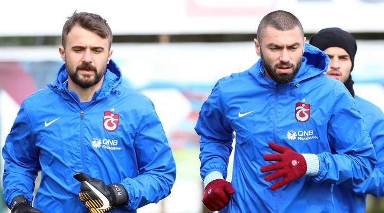 Trabzon'da Burak dönüyor