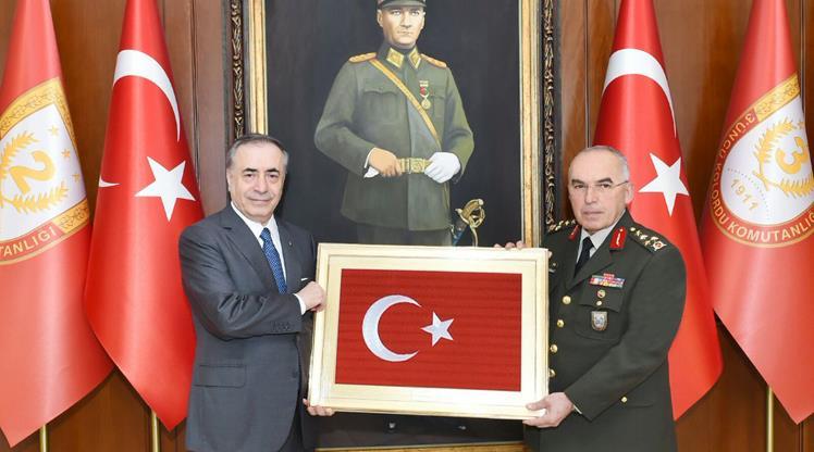 Mustafa Cengiz'den Avsever'e ziyaret