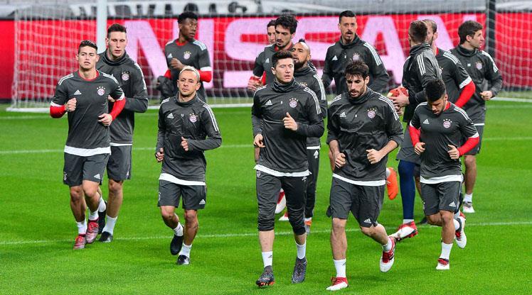Bayern hazırlıklarını tamamladı