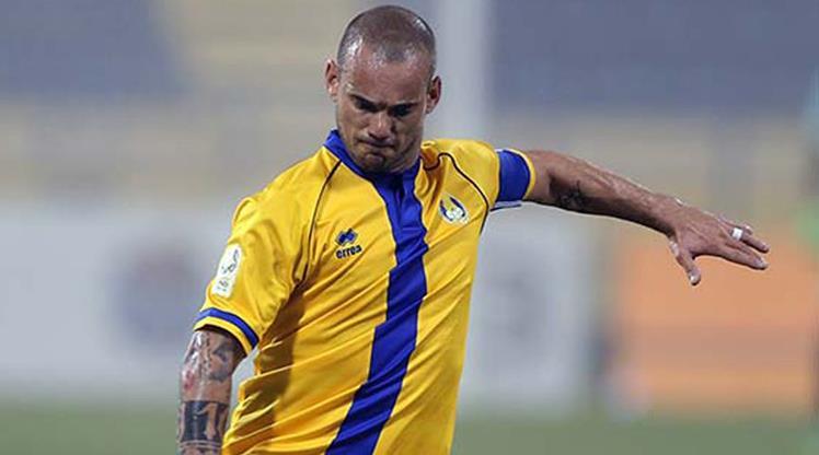 Sneijderli El-Gharafa kaçamadı