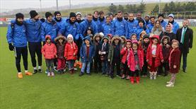 Trabzonspor'un özel konukları