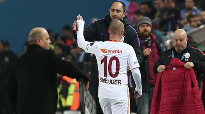 """""""Sneijder'i ben göndermedim"""""""