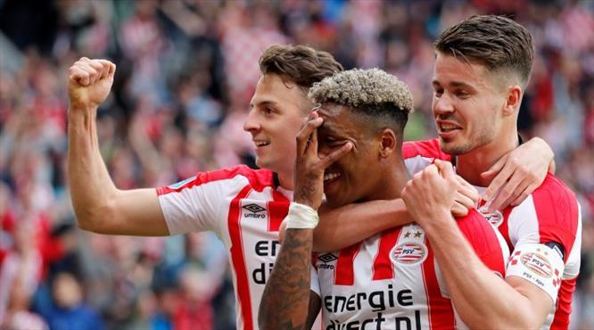 Ve şampiyon PSV
