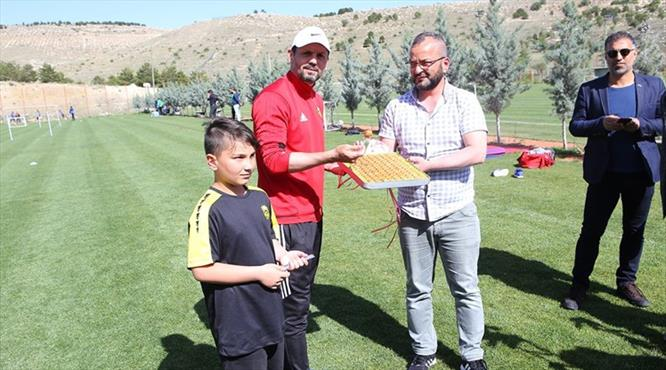 Malatyaspor'a sürpriz misafir