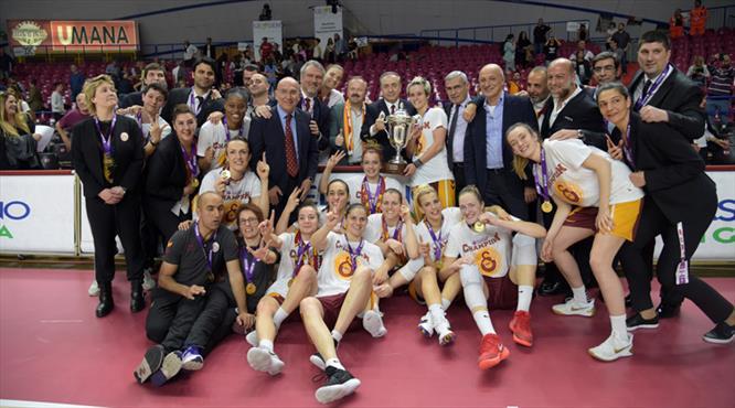 Bu gurur Türkiye'nin! Galatasaray Avrupa Şampiyonu (ÖZET)