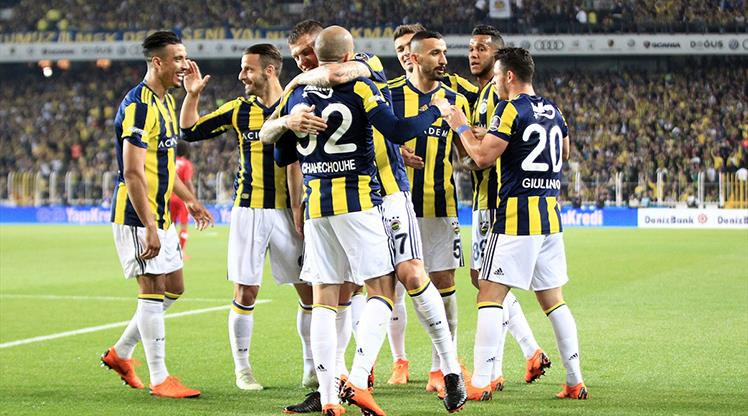 İşte Fenerbahçe - Antalyaspor maçının özeti