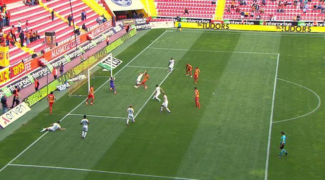 Kayseri'de beraberlik golü Boldrin'den