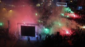Akhisar'da Türkiye Kupası coşkusu