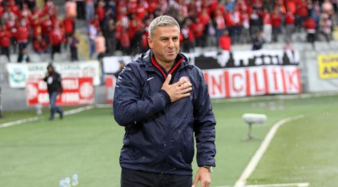 Hamzaoğlu 'devam' dedi