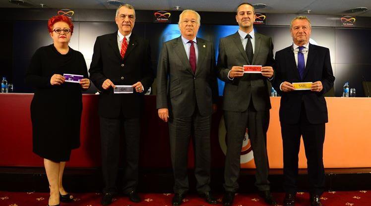 Galatasaray'da renk seçimi yapıldı