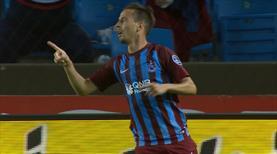 Trabzonspor ligi bu golle kapattı