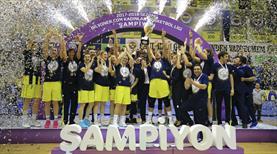 Ve şampiyon Fenerbahçe