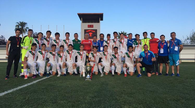 Gelişim Ligi'nde şampiyon Bursaspor