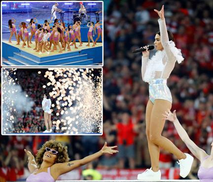 Muhteşem atmosfer! Kiev'de Devler Ligi şöleni