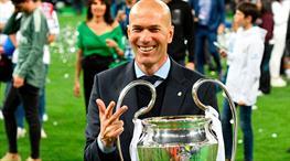 Bu unvan Zidane'a çok yakıştı