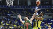 Nefes kesen maç Fenerbahçe Doğuş'un (ÖZET)