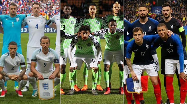 Nijerya, İngiltere ve Fransa'yı yakaladı