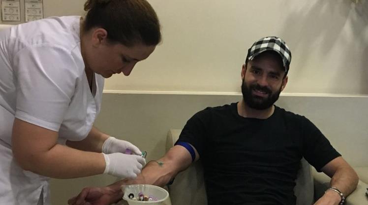 Mehmet Uslu sağlık kontrolünden geçti