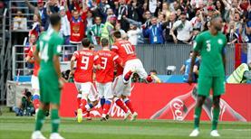 Dünya Kupası Rusya şovla başladı: 5-0