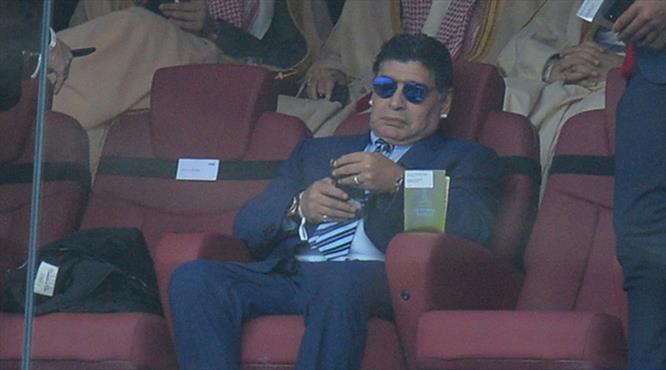 """Maradona'dan çok sert tepki: """"Dünya Kupası'nı hak etmiyorlar"""""""