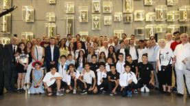 Beşiktaş'ta bayramlaşma töreni yapıldı