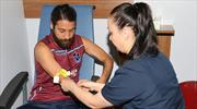 Trabzonspor'da sağlık kontrolleri başladı