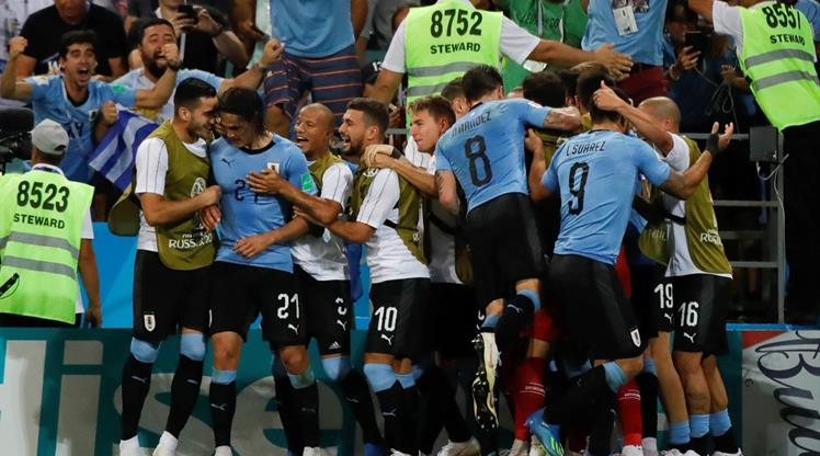 Cavani Portekiz'in hayallerini yıktı! Fransa'nın rakibi Uruguay!