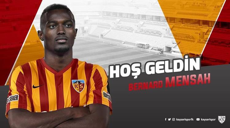Bernard Mensah Kayserispor'da