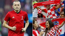Cüneyt Çakır'ın maçında gülen Hırvatistan!