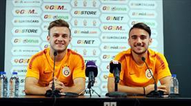 Aslan'ın Modric ve Griezmann'ı basın karşısında!