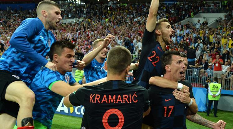 Hırvatlar tarih yazdı! Horozların rakibi Hırvatistan!