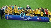 'Altın Jenerasyon'dan tarihi başarı! Belçika Dünya 3.'sü