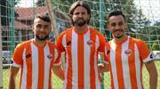 Adanaspor'da üçlü imza