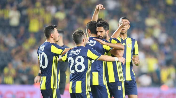 Süper Lig'in unvanları Fenerbahçe'de