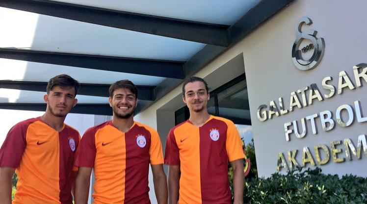 Galatasaray 3 gençle imzaladı!