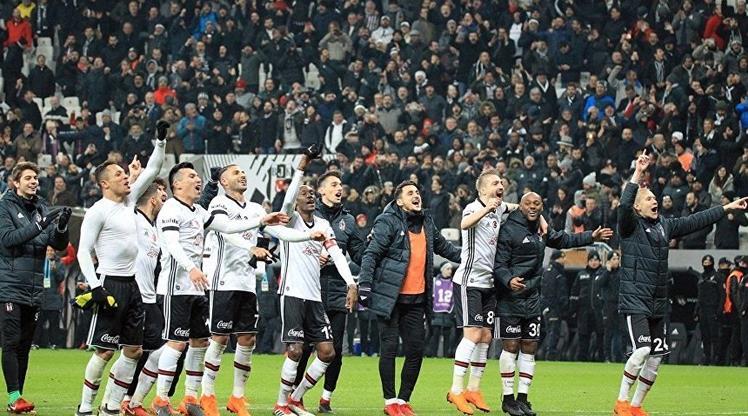 Beşiktaş rekorlarıyla tarihe geçti