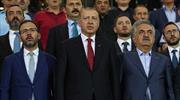 Cumhurbaşkanı Erdoğan Çaykur Rize-Kasımpaşa maçında