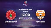 Ümraniyespor - Adanaspor (CANLI)