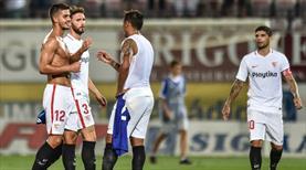 Sevilla Çekya'dan avantajla çıktı!