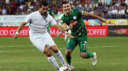 Çaykur Rizespor - BB Erzurumspor: 0-0 (ÖZET)