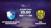 BŞB Erzurumspor - MKE Ankaragücü