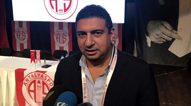 Antalyaspor AŞ Genel Başkanı Öztürk oldu