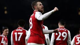 Arsenal şovla yara sardı! (ÖZET)
