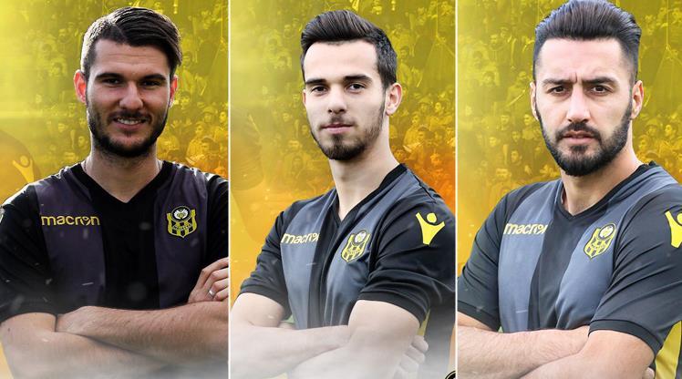 Malatyaspor'da 3 imza birden